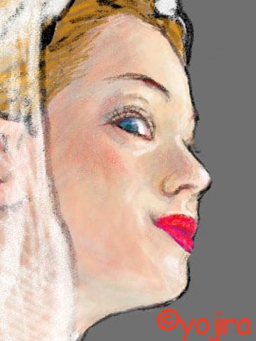 白い肌の描き方