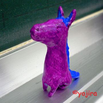 馬犬フィギア