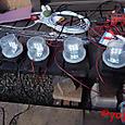池周りの照明用LED装置